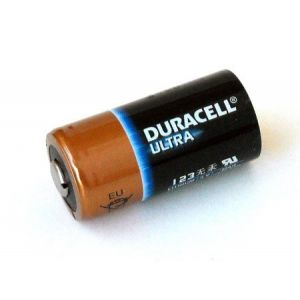 Batería Duracell Ultra Lithium CR123A / CR17345 Litio (NO Recargable)