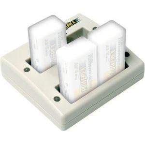 Cargador Powerex MH-C490F para 4 Baterias 9v de NiMH