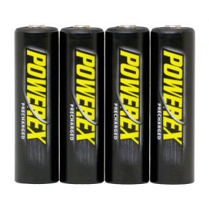 Baterías Recargables POWEREX MH-4AAP-BH Precharged - PACK 4xAA 2600mAh
