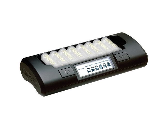 Powerex MH-C801D 8-Cell 1-Hour Charger for AA / AAA NiMH / NiCD Batteries