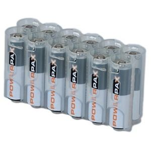Battery case - 12 x AA Clear