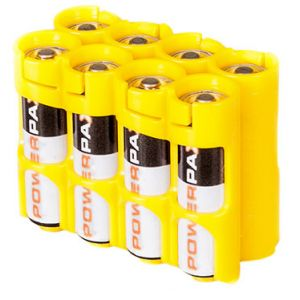Battery case - 8 x AA Yellow