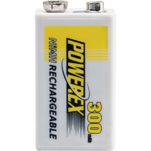 Powerex MHR84V Rechargeable NiMH Battery 8.4V 300mAh