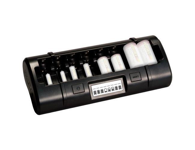 Powerex MH-C808M  Ladegeräte 8 AA / AAA / C / D