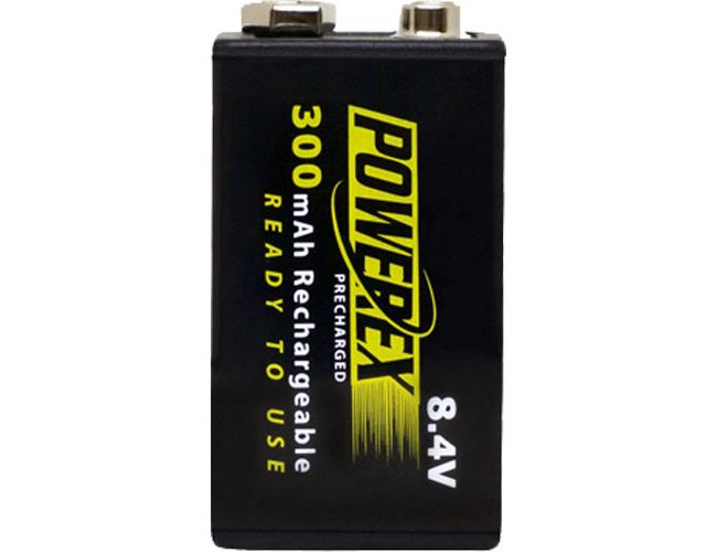 Akku POWEREX MHR84VP-300 PreCharged NiMH 8,4v 300mAh - PACK 1