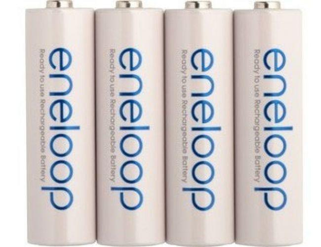 4 x Batteries Panasonic Eneloop BK-3MCCE 1900mAh AA