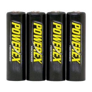 Batteries POWEREX MH-4AAP-BH Precharged - PACK 4xAA 2600mAh
