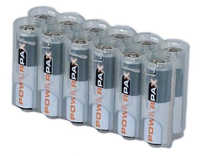 Porta batteria 12xAA CLEAR