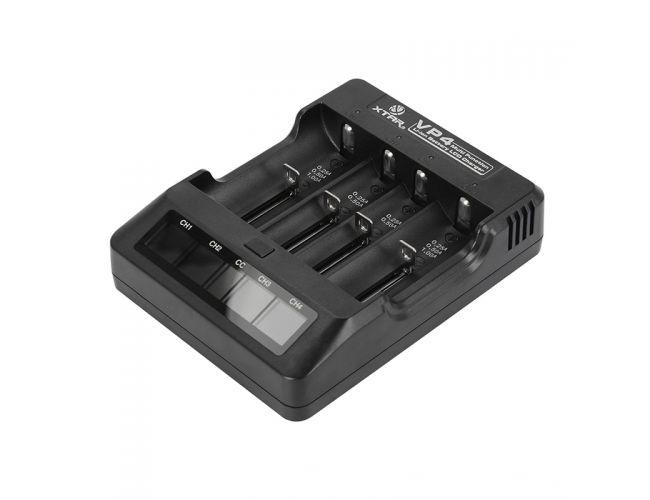 Cargador de baterías de Litio Xtar VP4