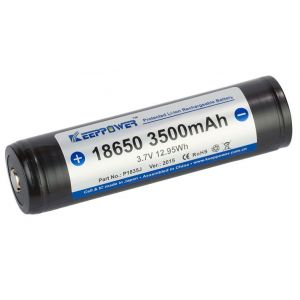 Batteria al Litio KeepPower 18650 3,7V 3500mAh Li-ion