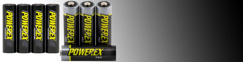Pilas y baterías Powerex