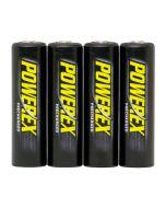 Baterías Recargables POWEREX MH-4AAP-BH Precharged - PACK 4xAA 2600mAh