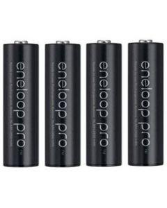 Baterías Panasonic Eneloop Pro BK-3HCDE 2500mAh pack 4xAA Baja autodescarga