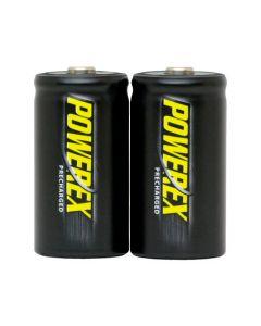 Baterías Recargables Powerex MHRCI2 IMEDION - PACK 2 Baterías C NiMH 1,2v 5000mAh