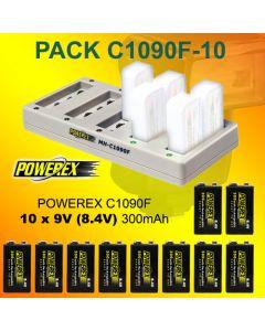 Pack PRO40 40 x Pilas recargables AA Powerex PRO 2700 mAh