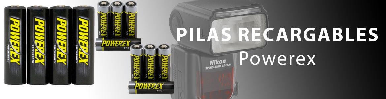 Pilas recargables Powerex
