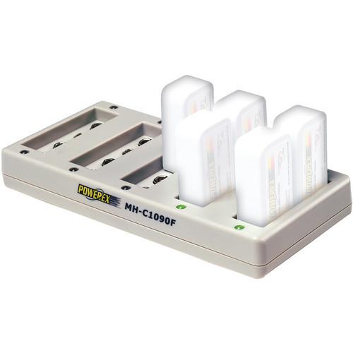 Cargador de pilas de 9 voltios Powerex MH-C1090F