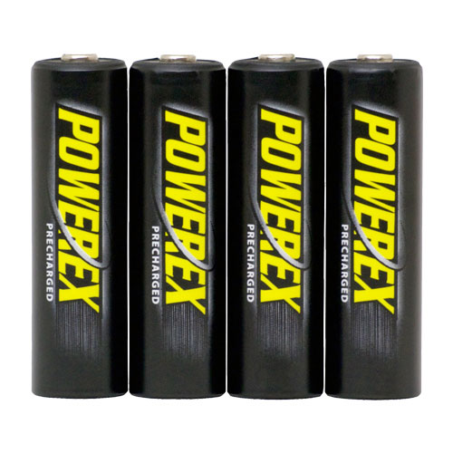 Pilas recargables AA Powerex Precharged 2600 mAh